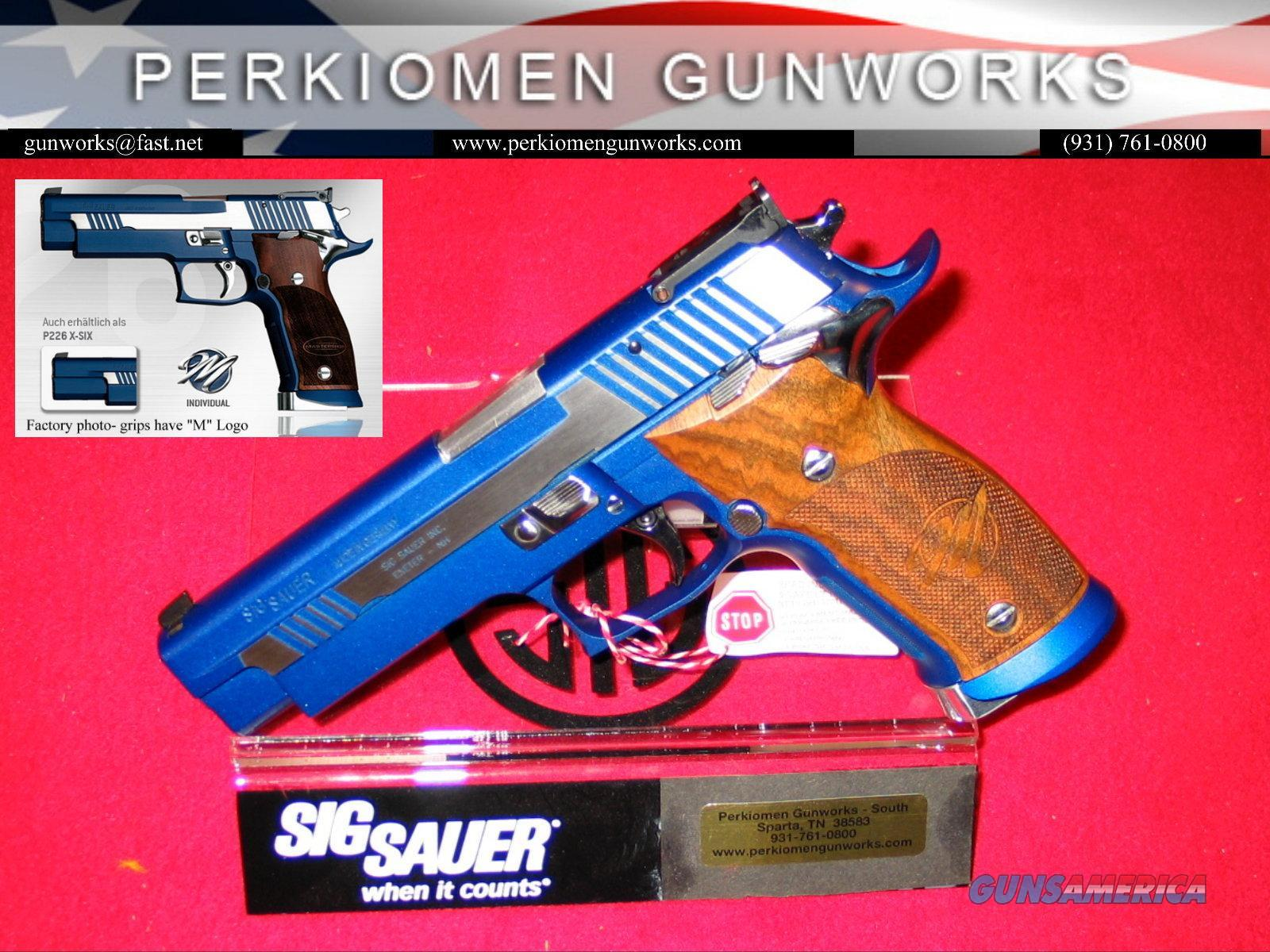 P226 X5 Blue Moon - Master Shop gun, New in Box  Guns > Pistols > Sig - Sauer/Sigarms Pistols > P226