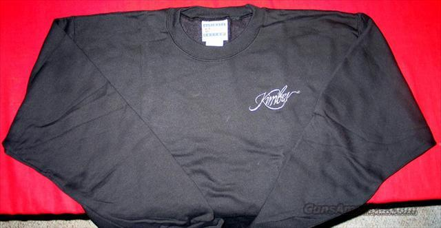 Kimber Sweatshirt - Black - Adult Sizes XL  Non-Guns > Logo & Clothing Merchandise