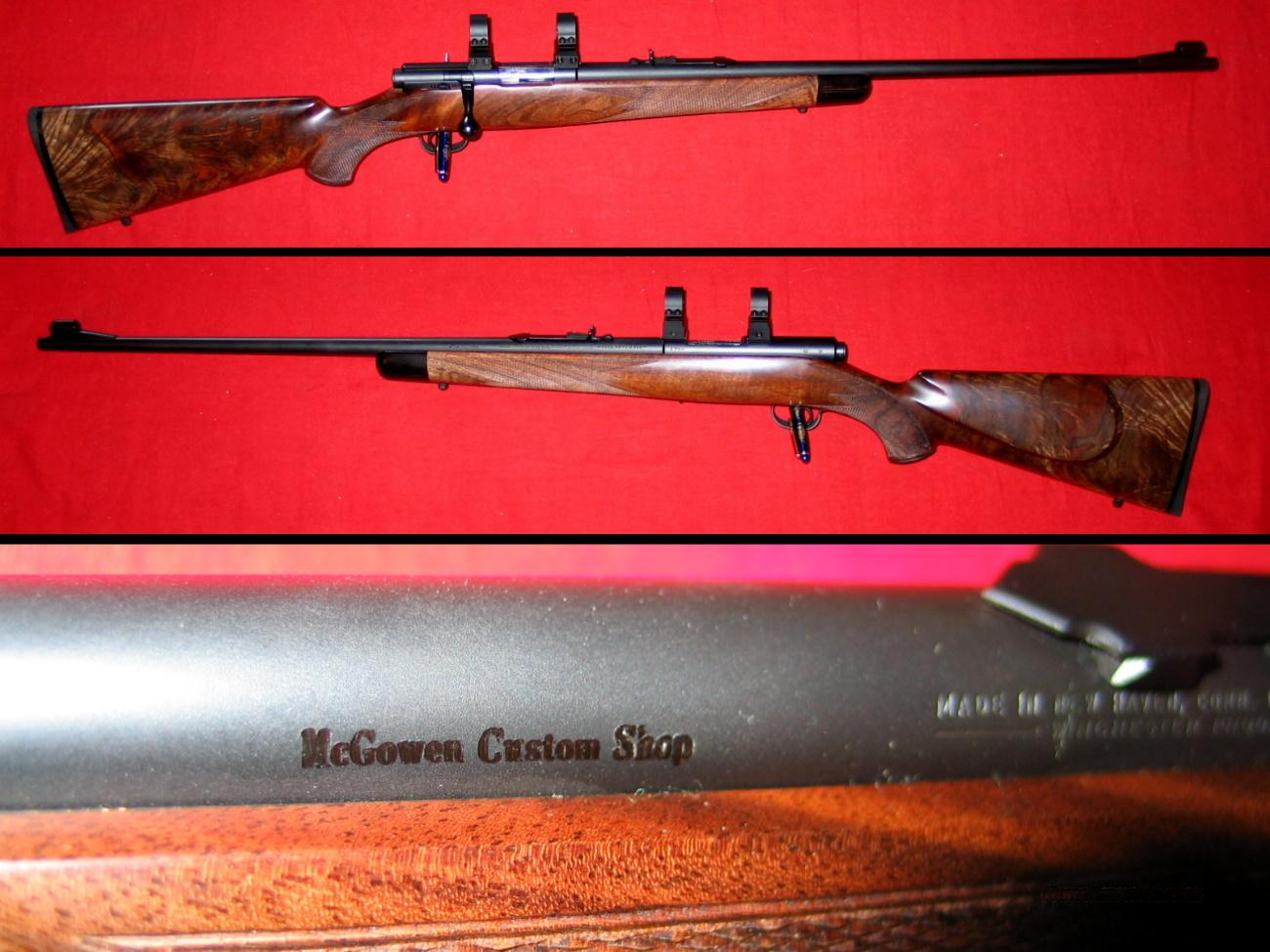 Winchester M-43 .218 Bee by McGowen  Guns > Rifles > Custom Rifles > Bolt Action