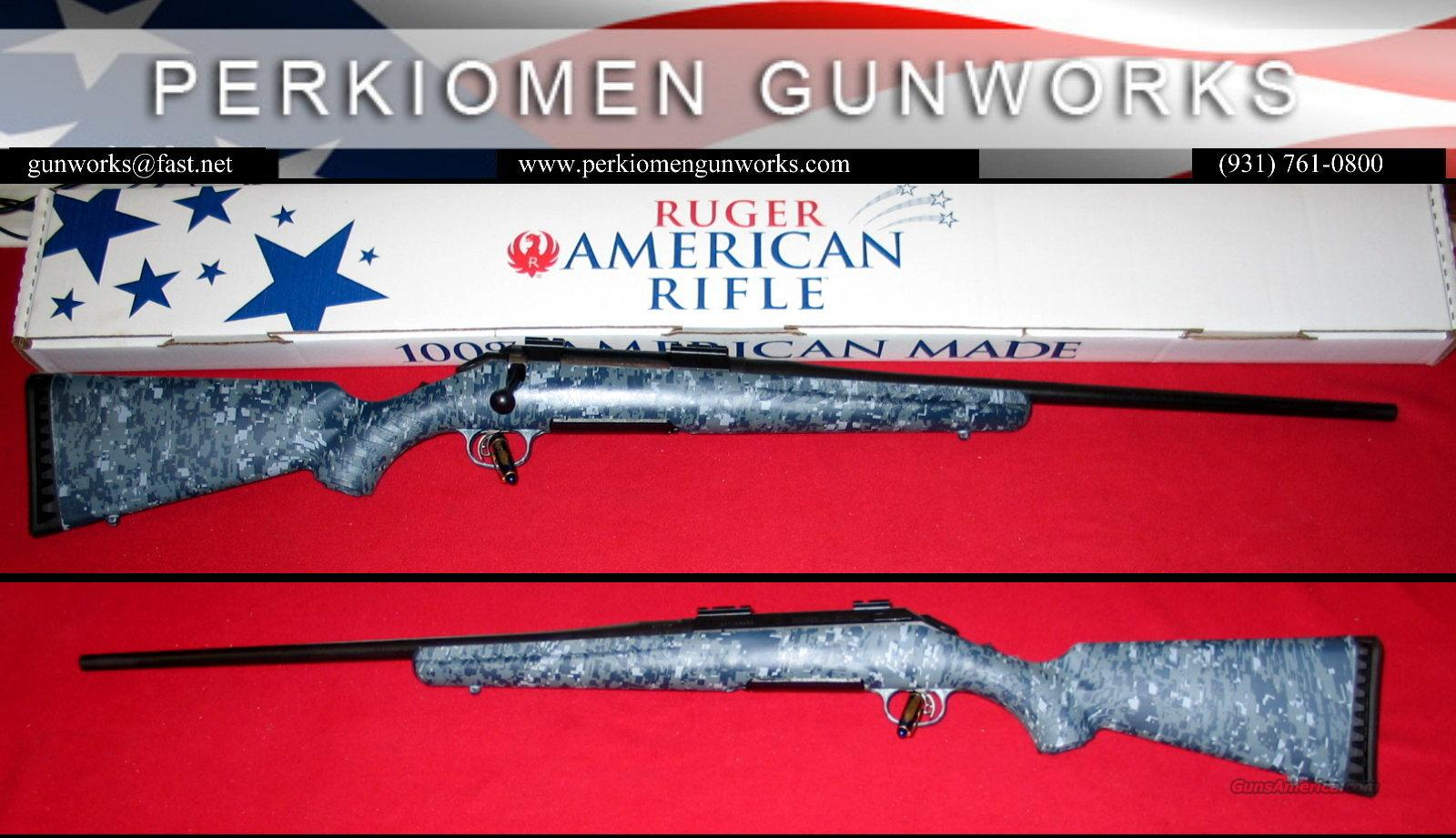 American .270Win, Navy Digital Camo - New in Box!  Guns > Rifles > Ruger Rifles > American