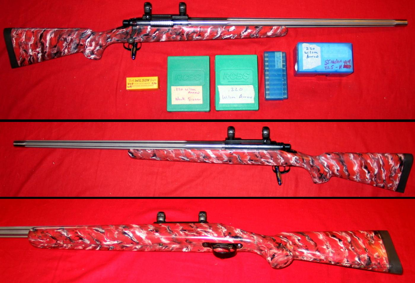 Rem 700 Custom .220 Wilson Arrow !!!!!  Guns > Rifles > Benchrest/Varmint Rifles Misc.