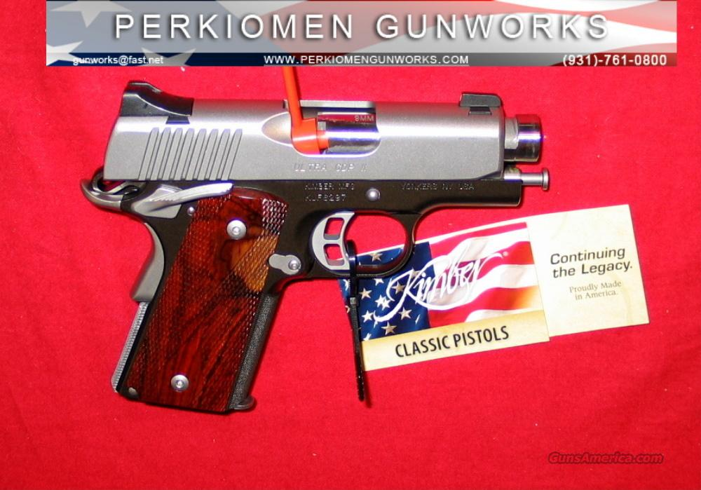 "Ultra CDP II, 9MM, 3"", New in Box  Guns > Pistols > Kimber of America Pistols"