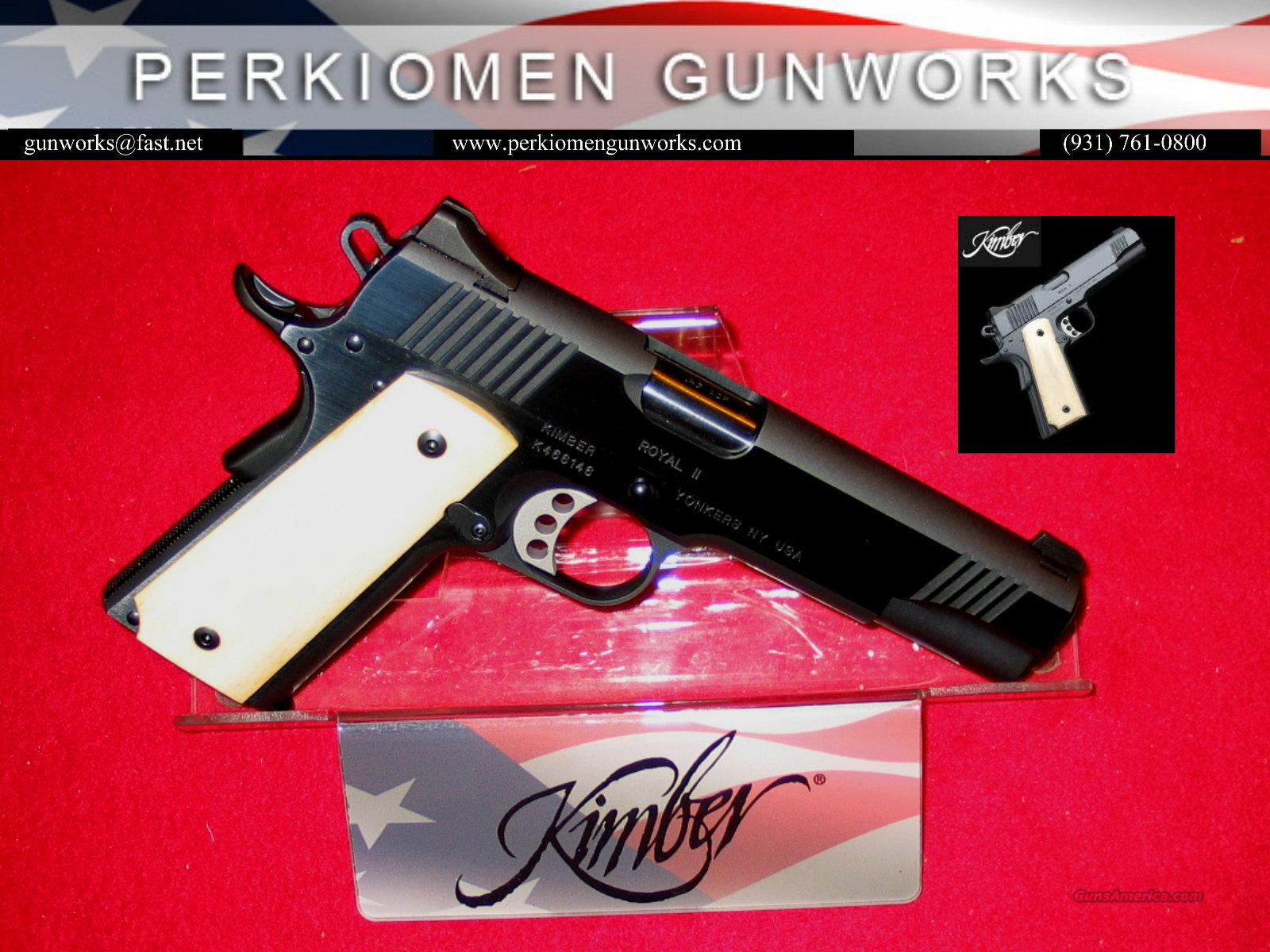 "Royal II, 45acp, 5"", New in Box  Guns > Pistols > Kimber of America Pistols"