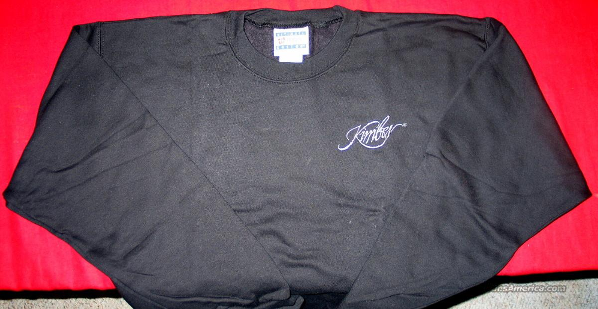 Kimber Heavy Weight Sweatshirt, Black – Adult XX-Large  Non-Guns > Logo & Clothing Merchandise