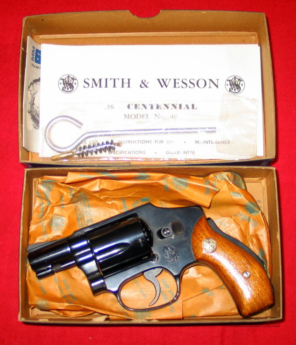 40 - NIB  Guns > Pistols > Smith & Wesson Revolvers > Pocket Pistols