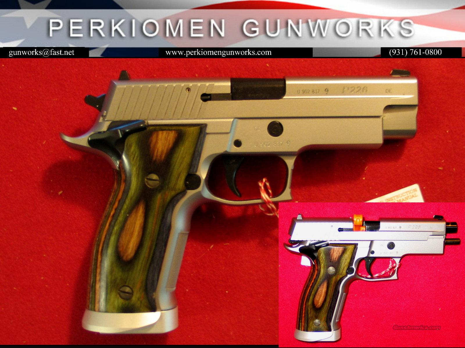 P226 X5, 9mm, Short & Smart, NIB from the MasterShop  Guns > Pistols > Sig - Sauer/Sigarms Pistols > P226