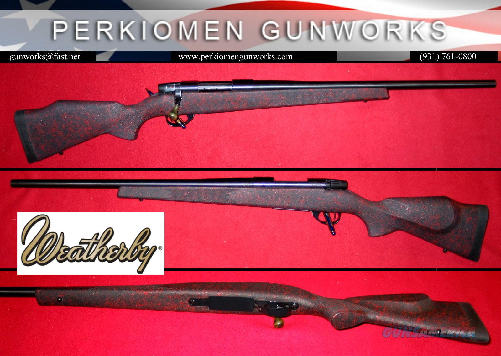 "Vanguard Varmint Special ""RED MIST"", .223, unfired  Guns > Rifles > Weatherby Rifles > Sporting"