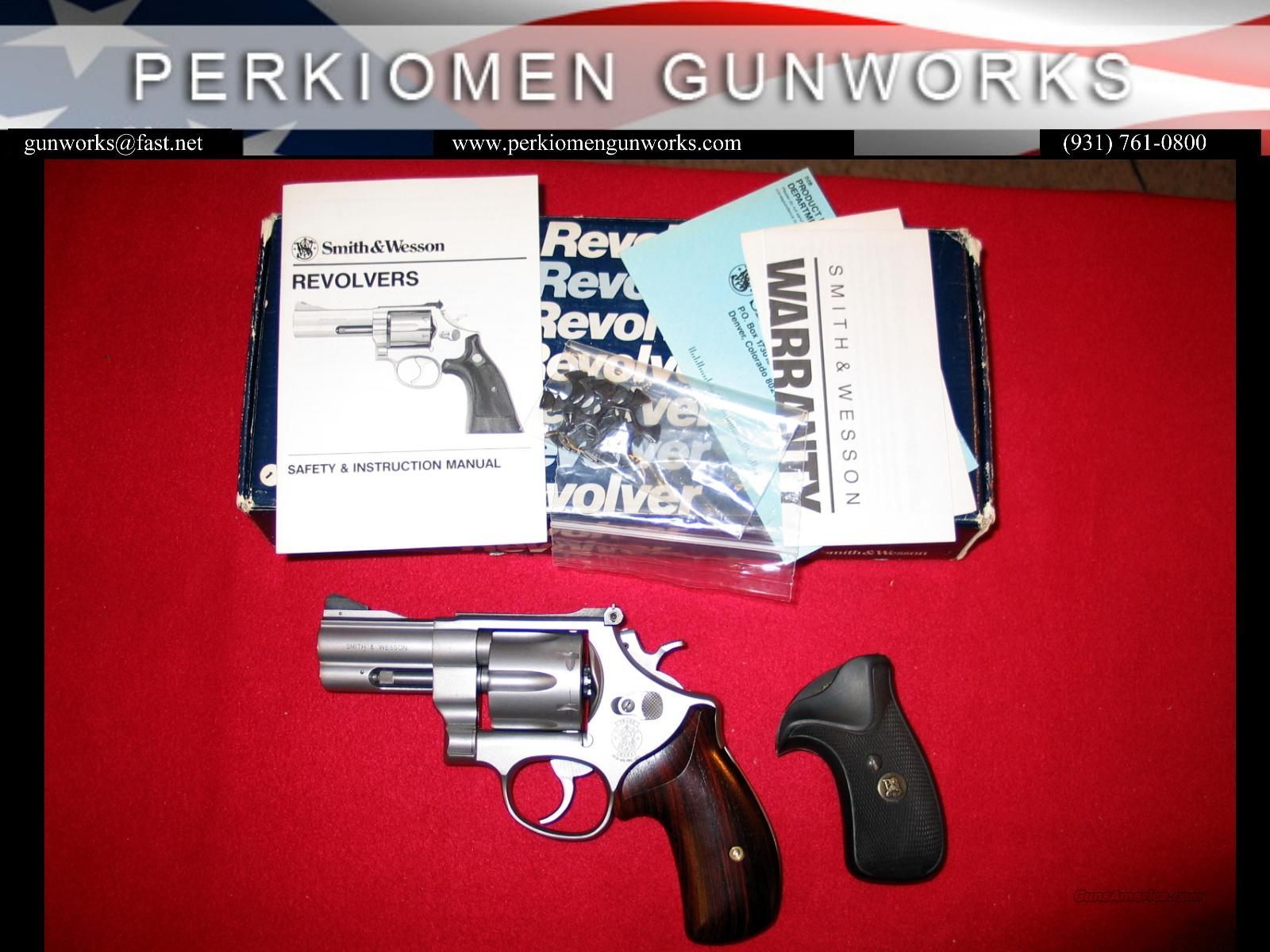 625, 3 Inch, Model of 1989  Guns > Pistols > Smith & Wesson Revolvers > Full Frame Revolver