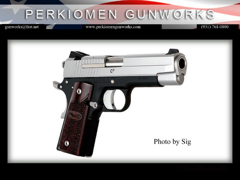 1911 Compact C3, 45acp, New in Box,1911CO-45-T-C3  Guns > Pistols > Sig - Sauer/Sigarms Pistols > 1911