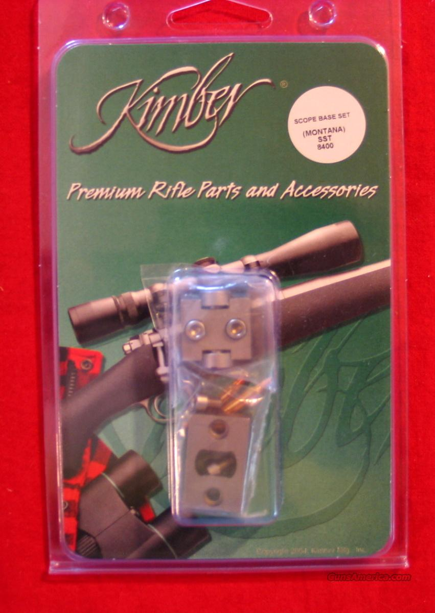 Kimber 8400 Stainless Steel scope bases  Non-Guns > Scopes/Mounts/Rings & Optics > Mounts > Other