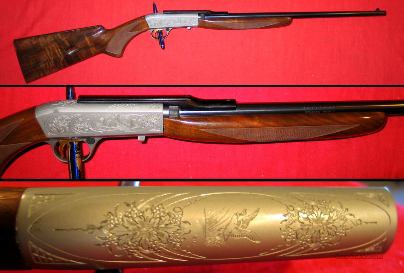 Auto-22 Belgium Gr. II - .22LR By G. Cockran  Guns > Rifles > Browning Rifles > Semi Auto > Hunting