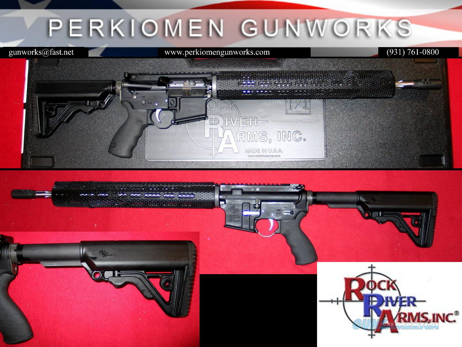 R3 Competition Rifle, 5.56/.223 with Chrome Bolt, Trigger & Ergo Options, NIB  Guns > Rifles > Rock River Arms Rifles