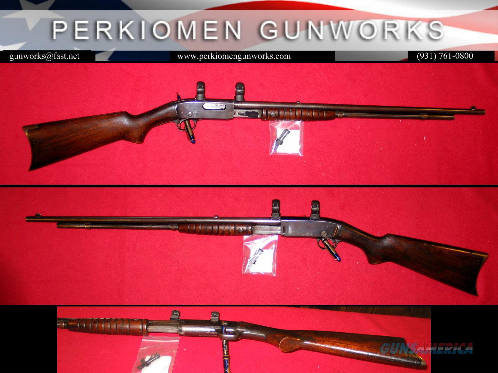 25 Pump Rifle in .25-20, 24 inch - SHOOTER  Guns > Rifles > Remington Rifles - Modern > Other