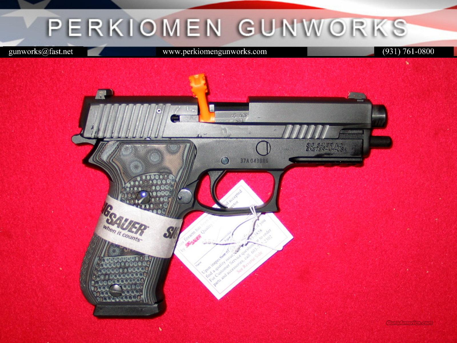 P220 Extreme .45acp, BlkGry G-10 w/Night Sights - NIB  Guns > Pistols > Sig - Sauer/Sigarms Pistols > P220