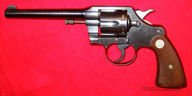 Official Police .22LR Pre-War  Guns > Pistols > Colt Double Action Revolvers- Pre-1945