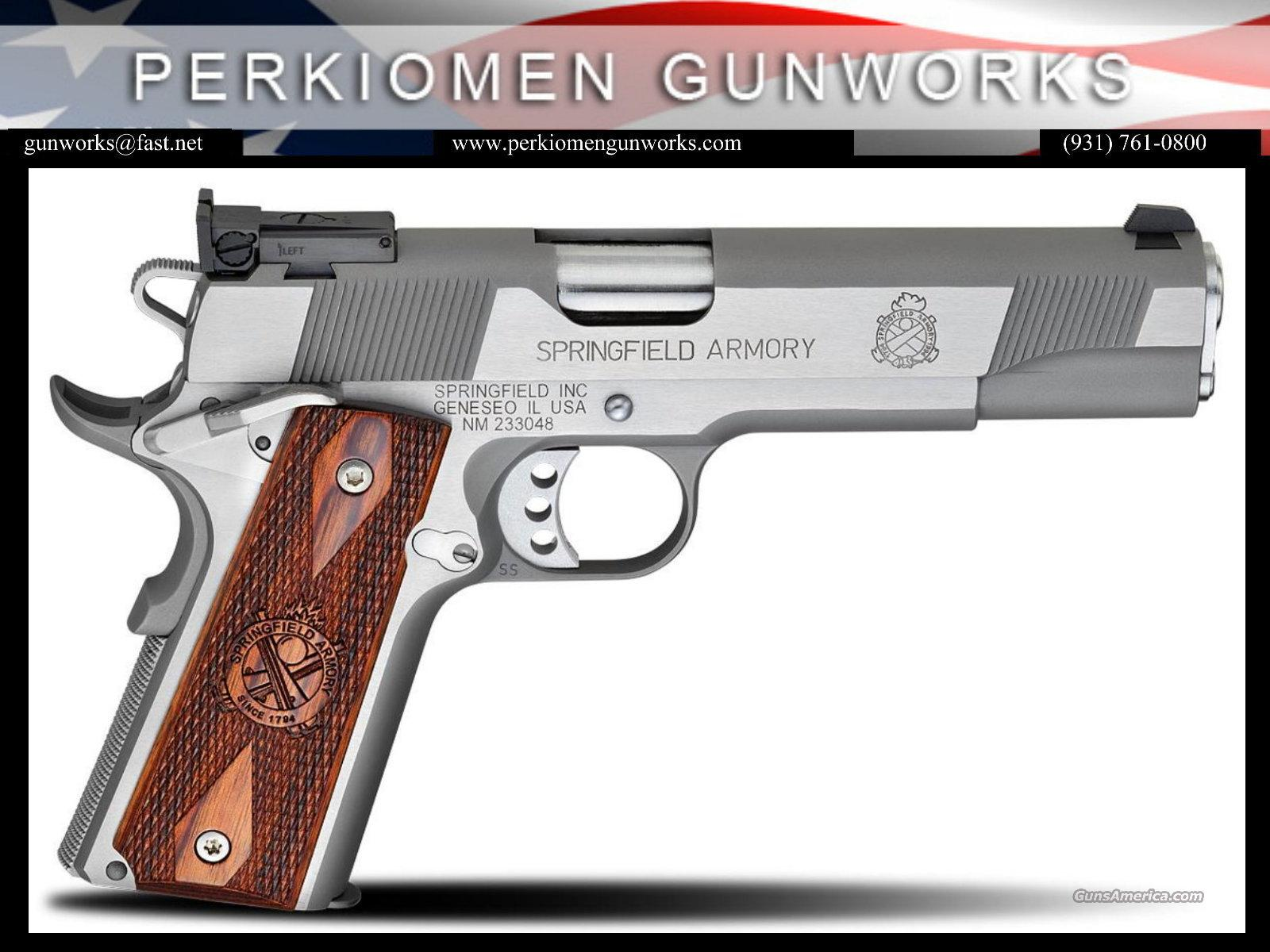 "1911 Loaded Target Stainless Steel 45 ACP, 5"" - PI9132LP, New in Box  Guns > Pistols > Springfield Armory Pistols > 1911 Type"