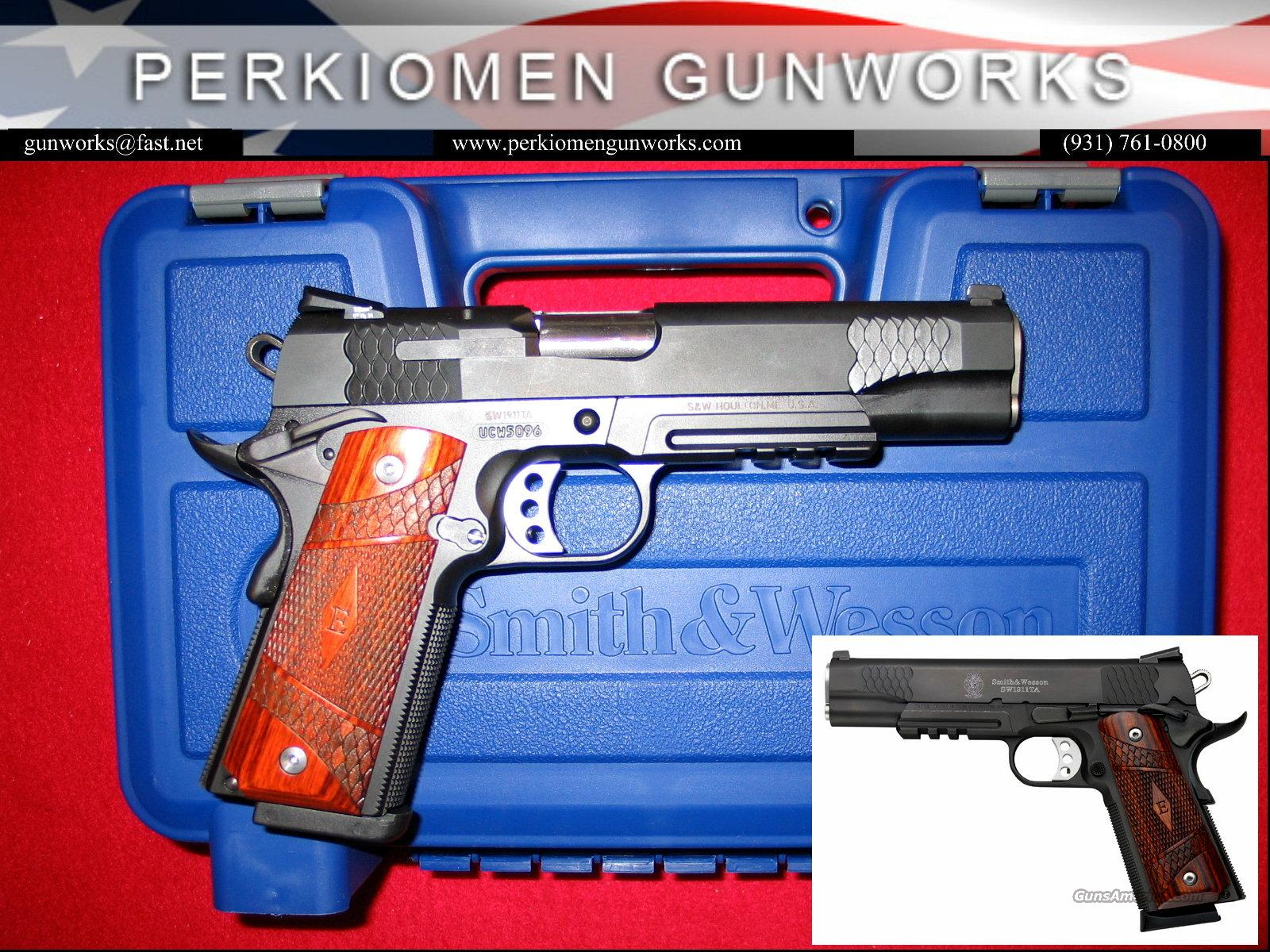 "SW1911TA E-Series, 45acp, 5"", Black SS-NIB  Guns > Pistols > Smith & Wesson Pistols - Autos > Steel Frame"