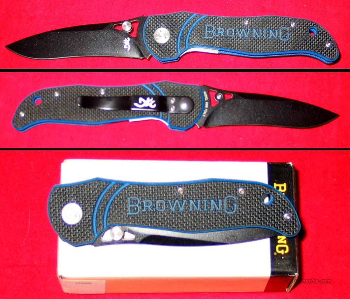 Browning White River Folding Lock Back Knife   Non-Guns > Knives/Swords > Knives > Folding Blade > Imported