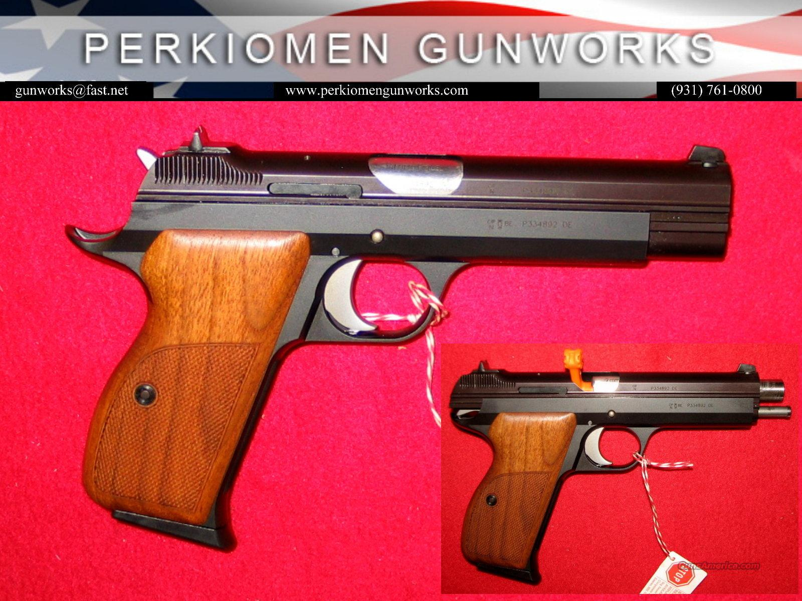 P210 Legend, 9MM - New in Box  Guns > Pistols > Sig - Sauer/Sigarms Pistols > Other