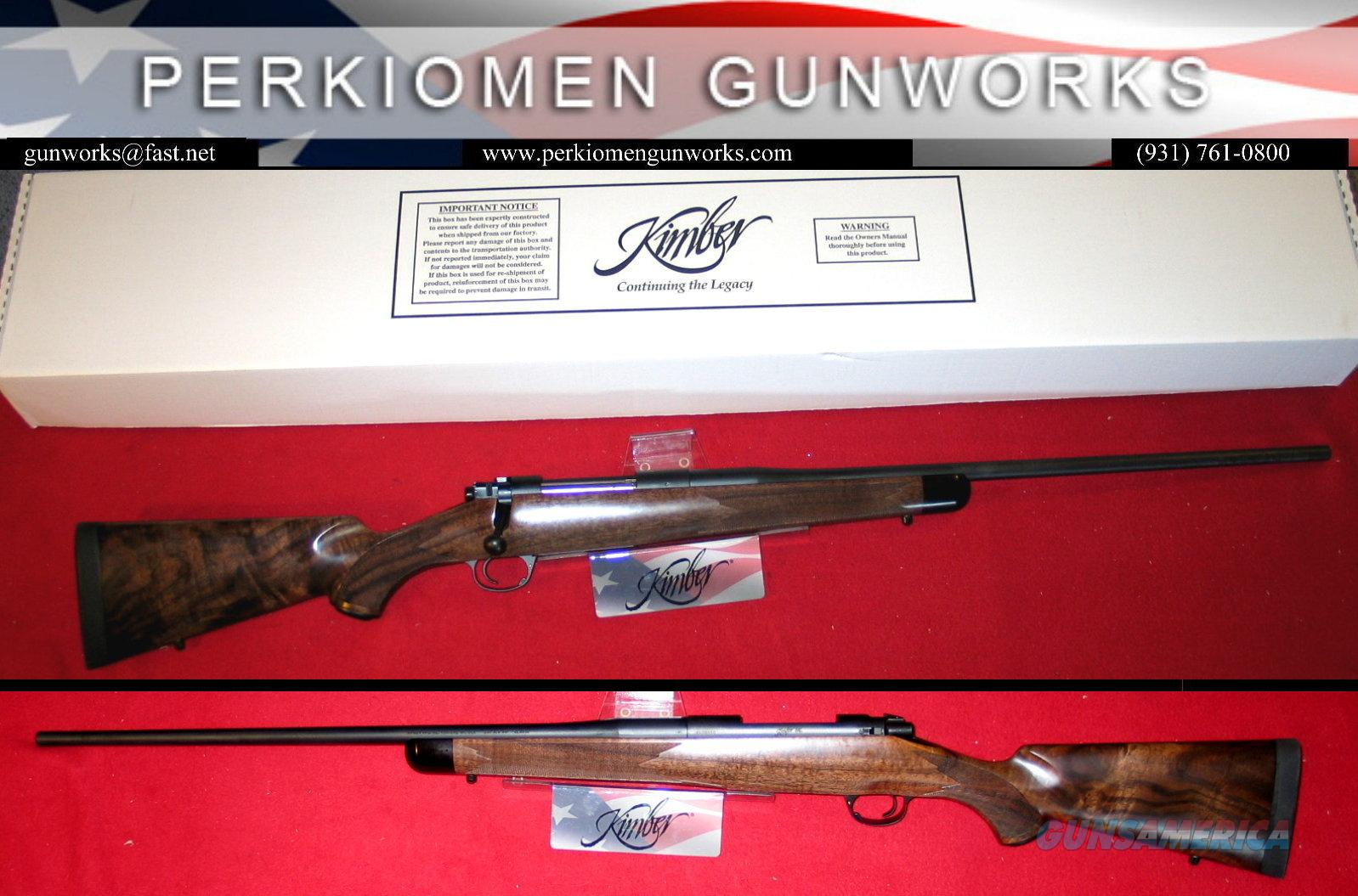84L .280 Ackley Classic Select, Super Looking French Walnut, New in Box!!  Guns > Rifles > Kimber of America Rifles