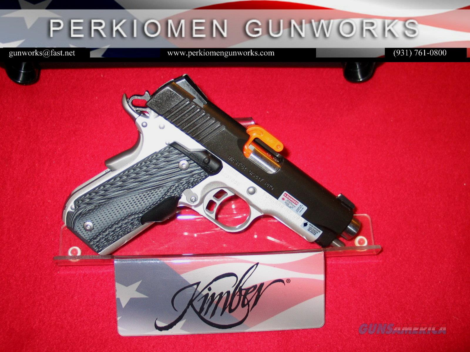 "Master Carry Pro (NS) (LG) 45acp, 4"", Nite Sights & Laser Grips - New in Box  Guns > Pistols > Kimber of America Pistols"