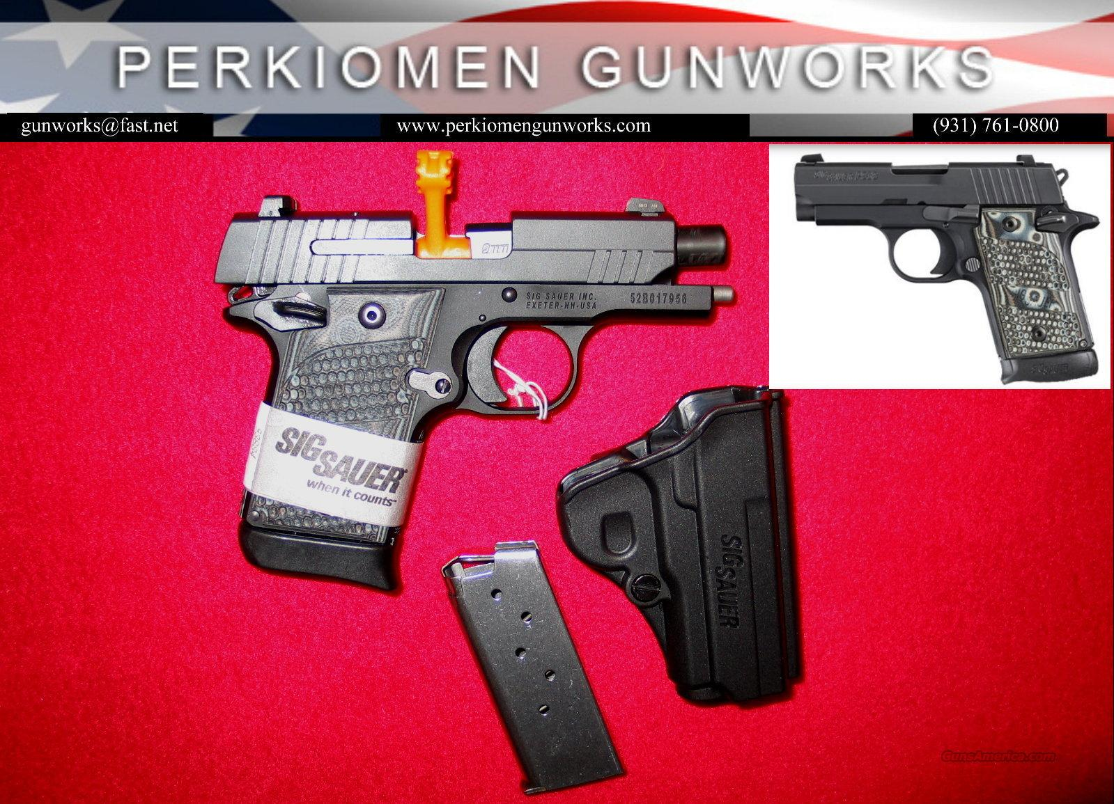 P938, 9MM Extreme BlkGry w/nite sights - New in Box / CLOSE-OUT  Guns > Pistols > Sig - Sauer/Sigarms Pistols > Other