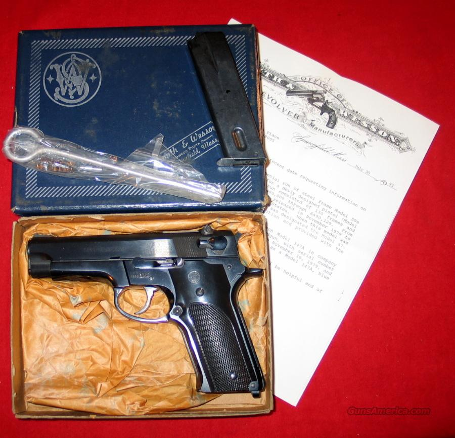 147A - RARE w/Jinks letter  Guns > Pistols > Smith & Wesson Pistols - Autos > Steel Frame