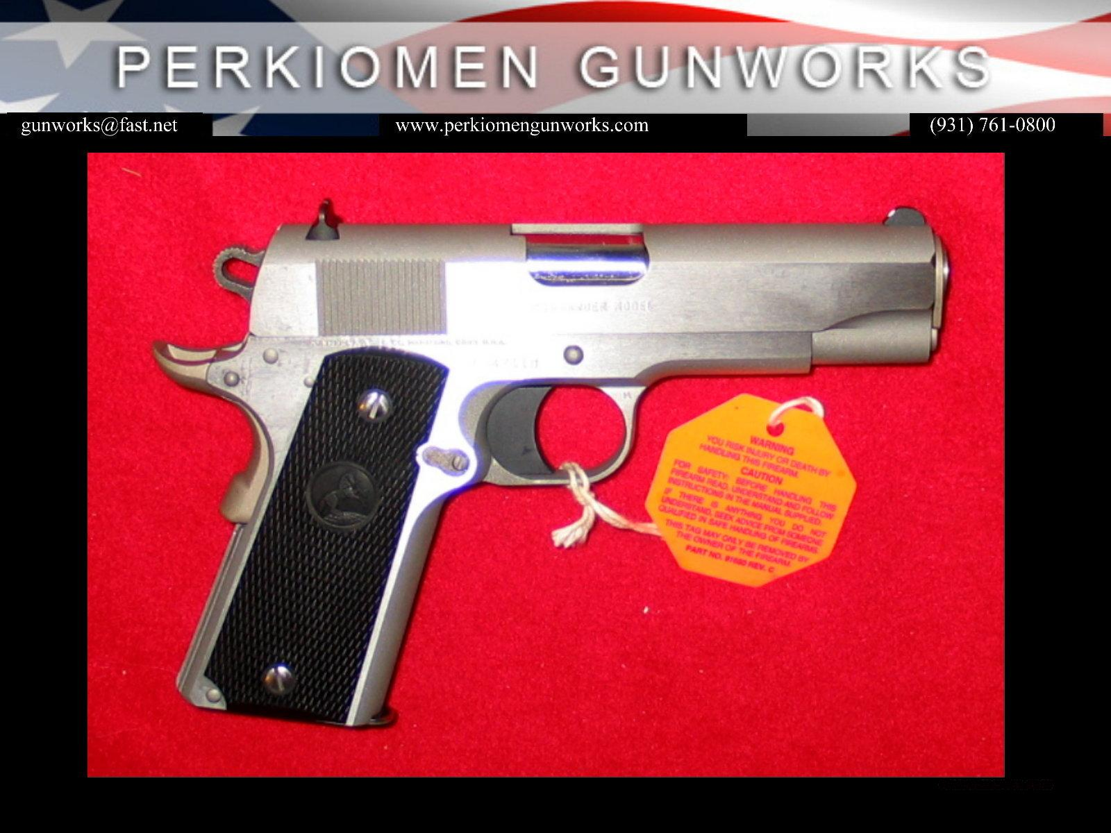 Combat Commander Stainless Steel 1991A1 - New in Box.  Guns > Pistols > Colt Automatic Pistols (1911 & Var)