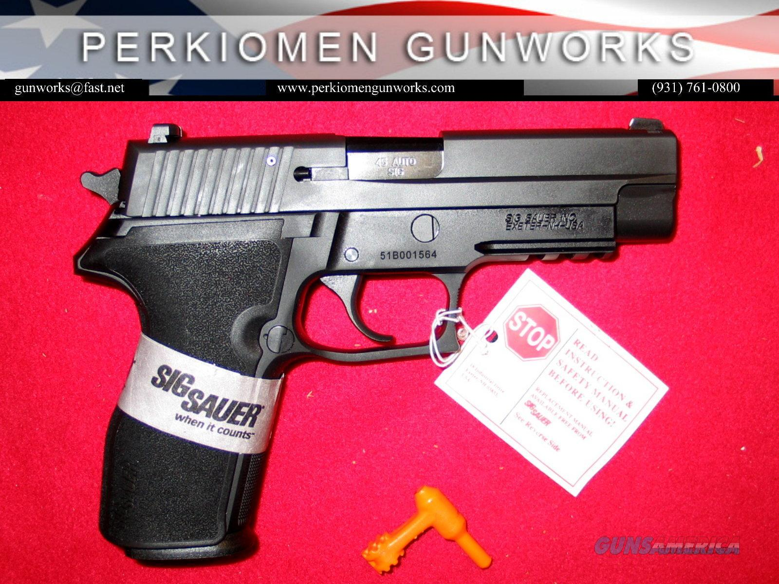 P227, 45acp, Nitron, Black - New Model - New in Box.  Guns > Pistols > Sig - Sauer/Sigarms Pistols > Other