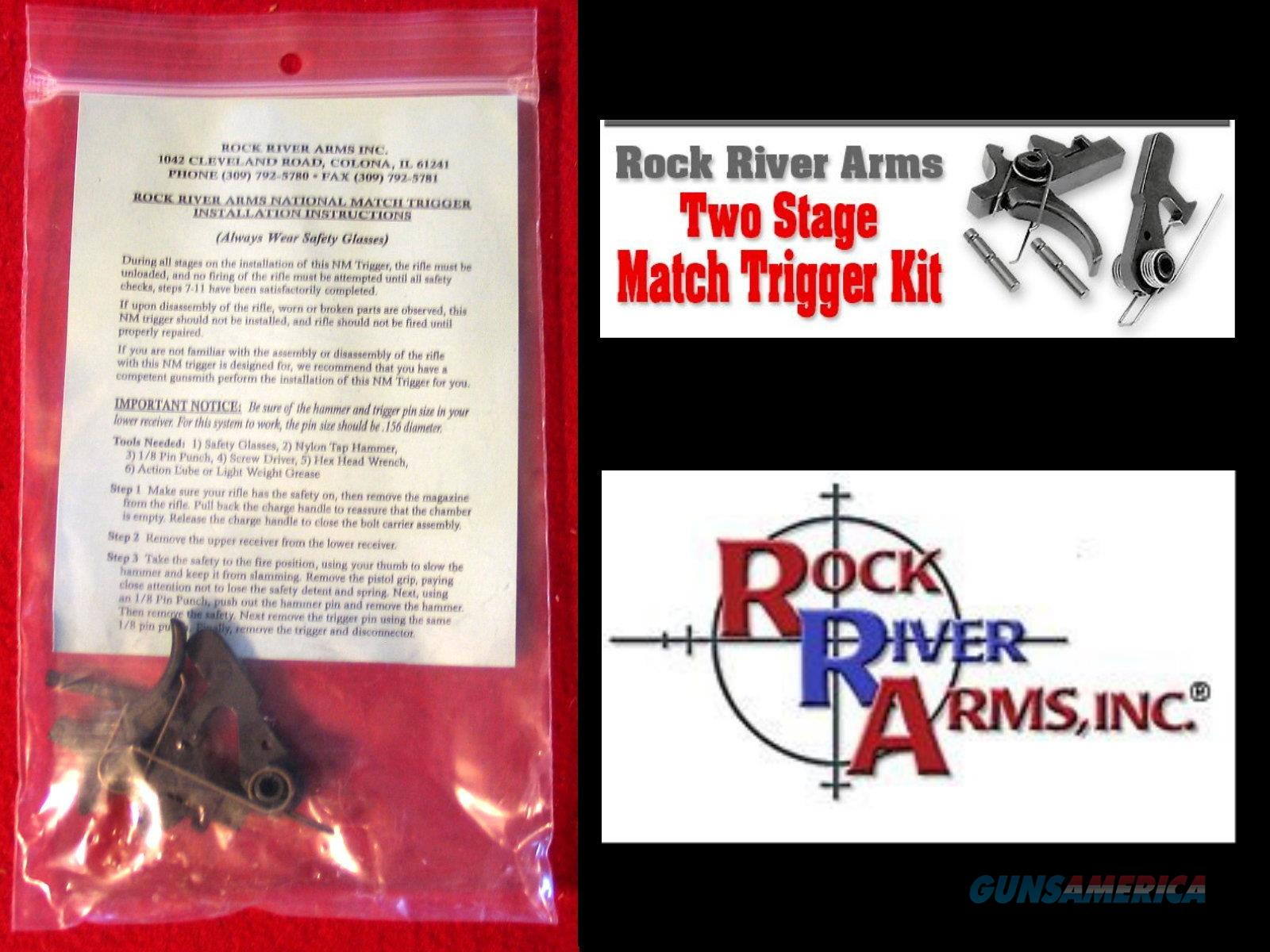 Rock River National Match AR Two Stage Trigger Kit  Non-Guns > Gun Parts > Rifle/Accuracy/Sniper