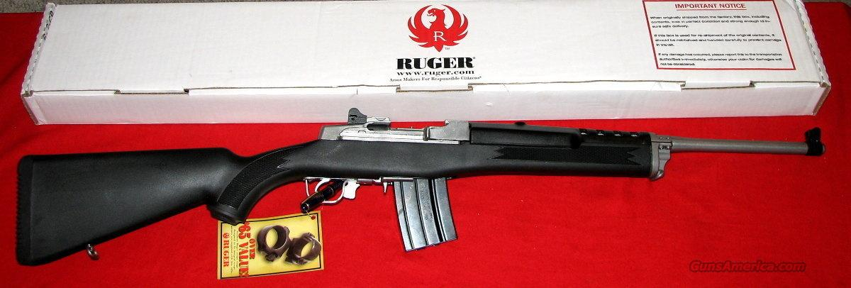Mini 14 223 SS/Syn Ranch 20P Rifle - NIB - ON SALE  Guns > Rifles > Ruger Rifles > Mini-14 Type