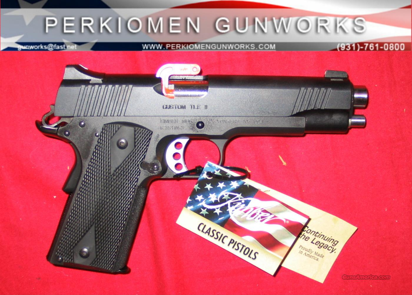 "Custom TLE, 45acp, 5"", LAPD Swat, New in Box  Guns > Pistols > Kimber of America Pistols"