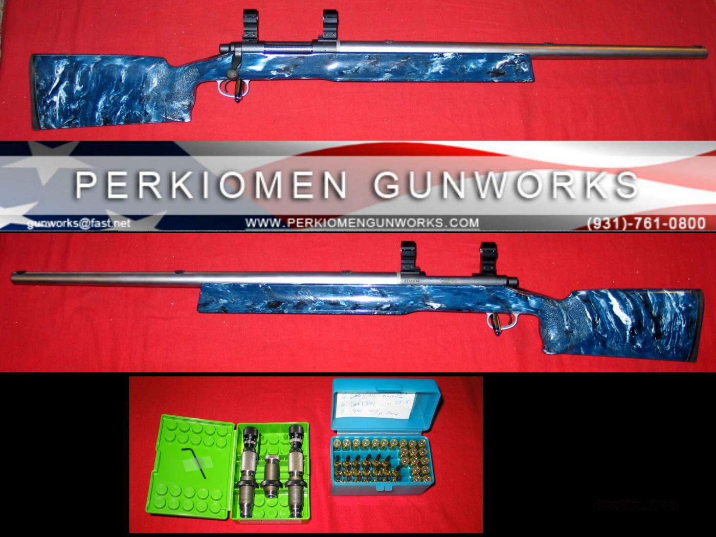 Rem 700 Custom BR in .243 AI w/Dies  Guns > Rifles > Benchrest/Varmint Rifles Misc.