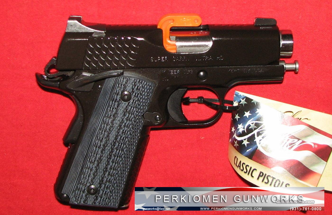 "Super Carry Ultra HD, 45acp, 3"" - NIB  Guns > Pistols > Kimber of America Pistols"