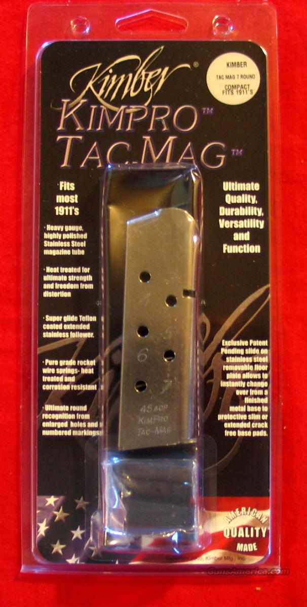 Kimber Kimpro Tac-Mag SS - Compact size  Non-Guns > Magazines & Clips > Pistol Magazines > 1911