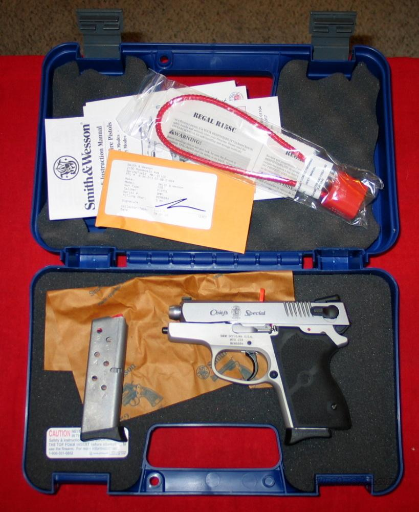 CS9 Chief's Special 9MM-NIB-Closeout  Guns > Pistols > Smith & Wesson Pistols - Autos > Alloy Frame
