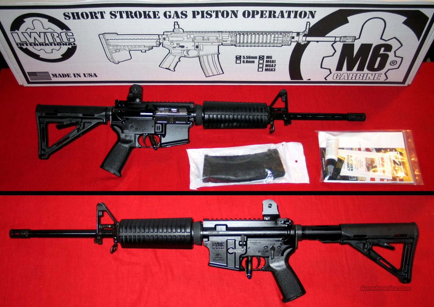 LWRC M6, 5.56 MM - NIB  Guns > Rifles > AR-15 Rifles - Small Manufacturers > Complete Rifle