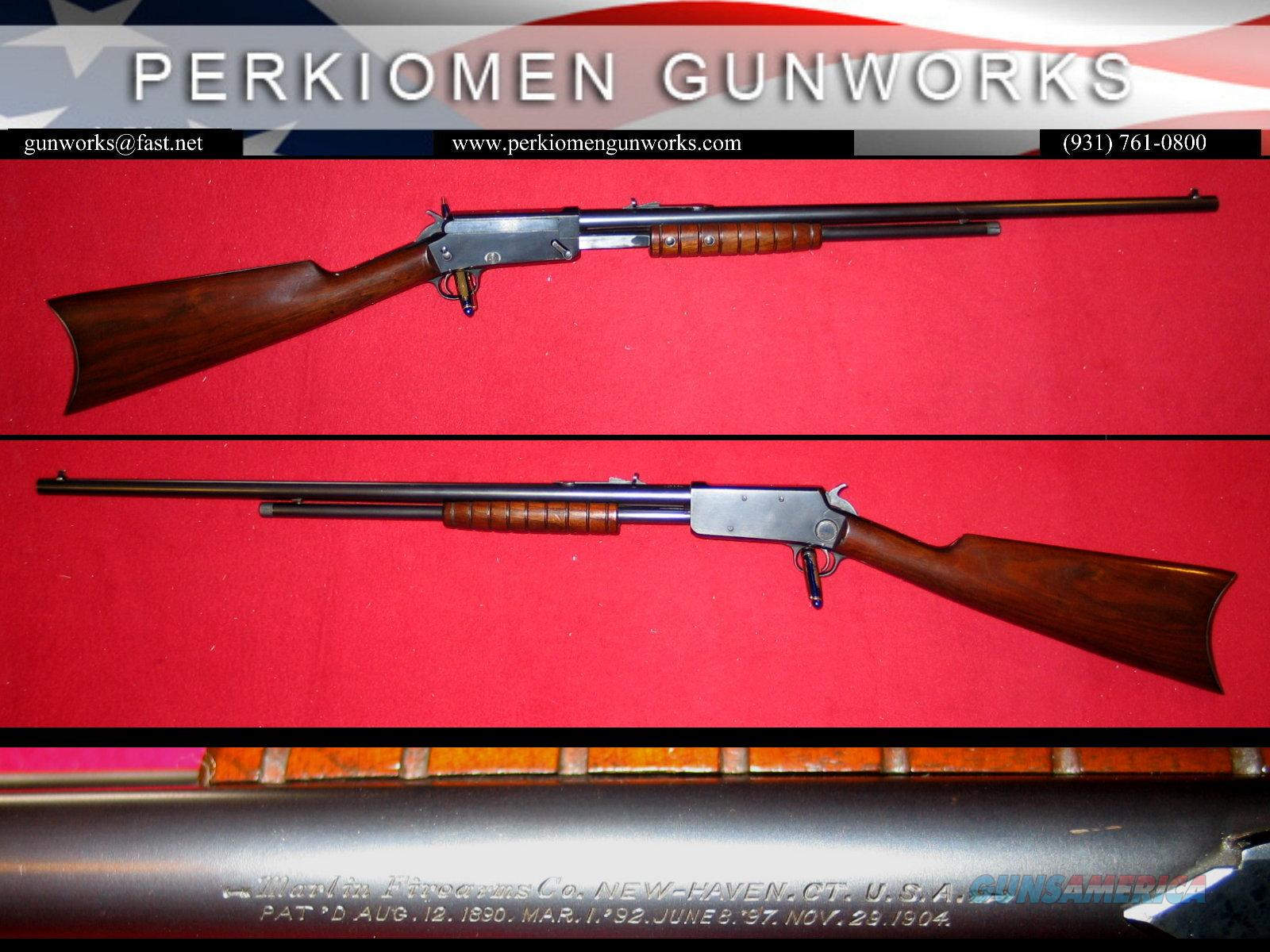 27S Slide Action Rifle .25RF- Very Clean!!  Guns > Rifles > Marlin Rifles > Modern > Bolt/Pump
