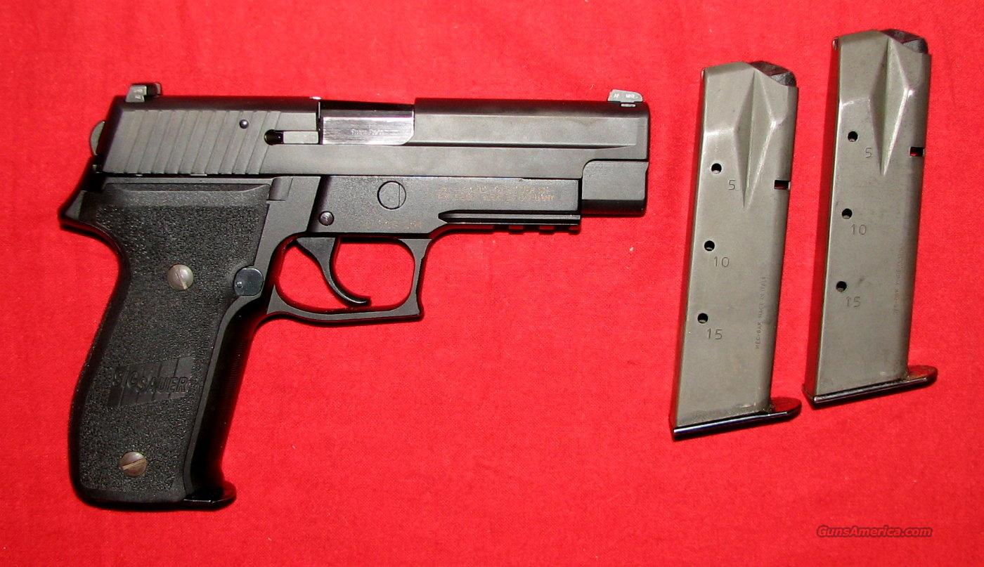 P 226R 9MM w/Nite Sights 3-15+1 mags - used  Guns > Pistols > Sig - Sauer/Sigarms Pistols > P226