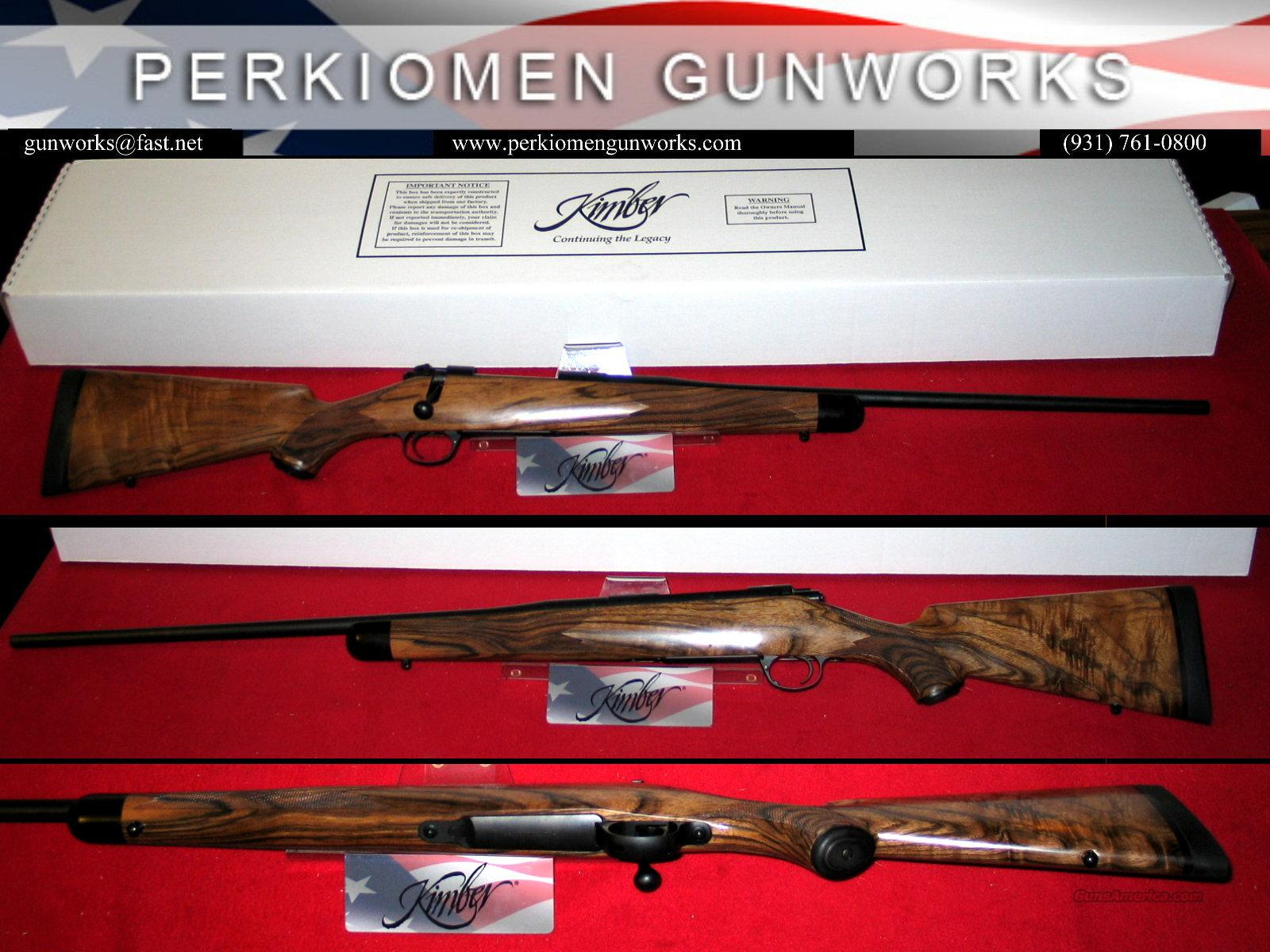 84L .280 Ackley Classic Select, French Walnut, New in Box  Guns > Rifles > Kimber of America Rifles