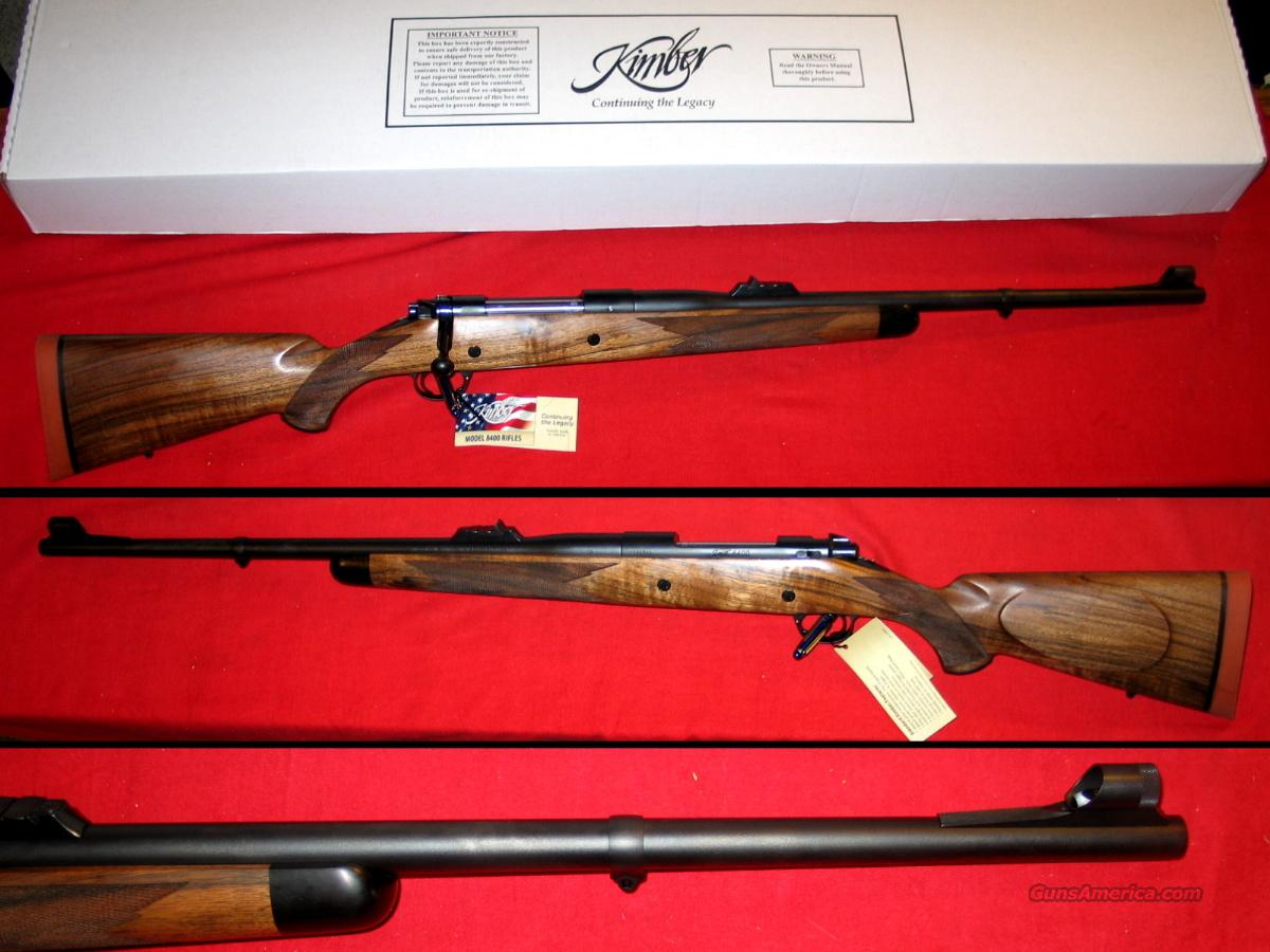 8400 LA Caprivi .458 LOTT - NIB  Guns > Rifles > Kimber of America Rifles