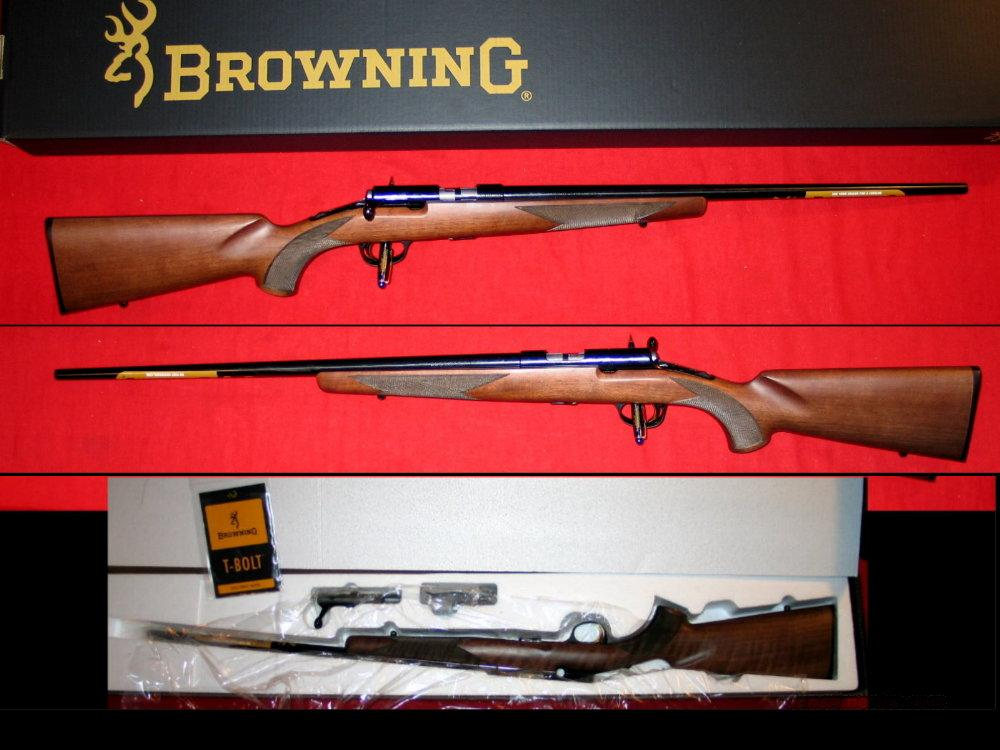 T-Bolt .22LR / New in Box  Guns > Rifles > Browning Rifles > Bolt Action > Hunting > Blue