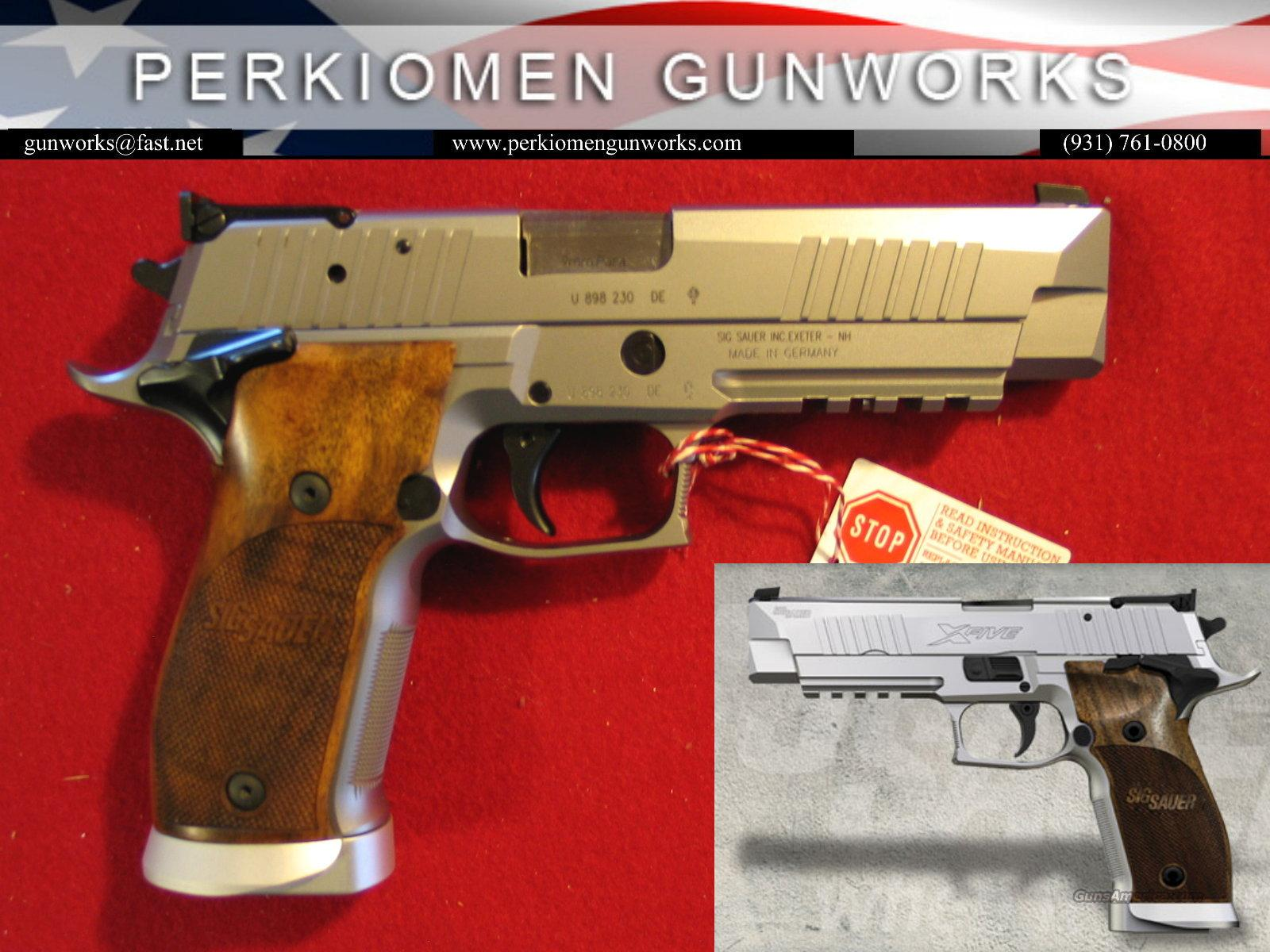 P226 X5 Classic, 9mm, Custom Shop, New in Box  Guns > Pistols > Sig - Sauer/Sigarms Pistols > P226