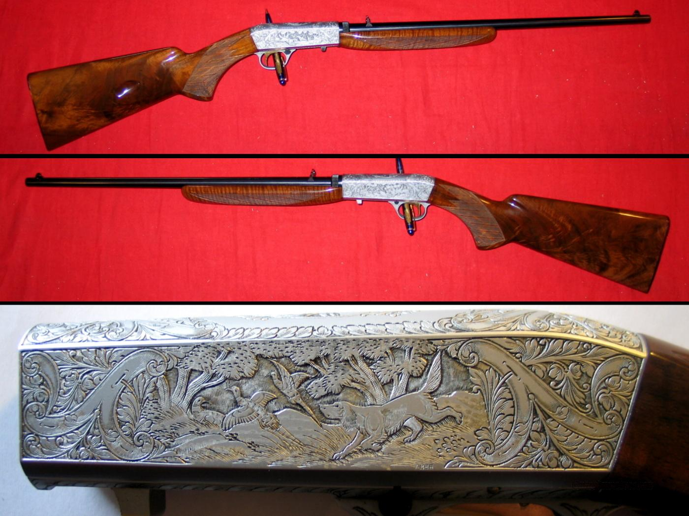 Auto-22 Belgium Gr. III - .22lr, By A. Bee  Guns > Rifles > Browning Rifles > Semi Auto > Hunting