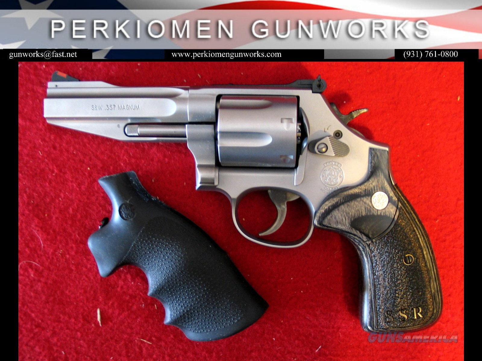 "686 SSR, 4"", .357mag, Pro Series  Guns > Pistols > Smith & Wesson Revolvers > Full Frame Revolver"
