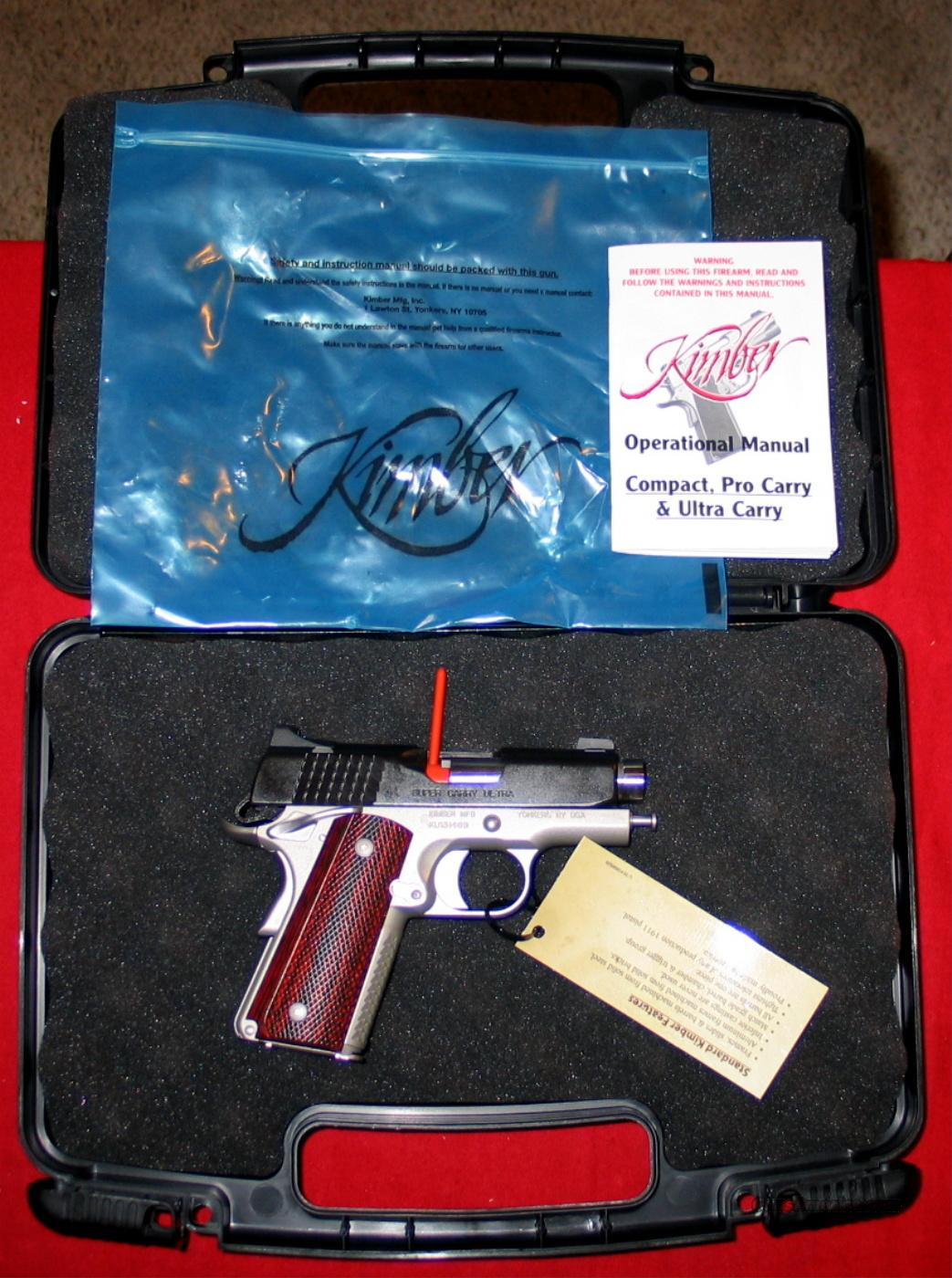 "Super Carry ULTRA 3"", 45acp - NIB  Guns > Pistols > Kimber of America Pistols"