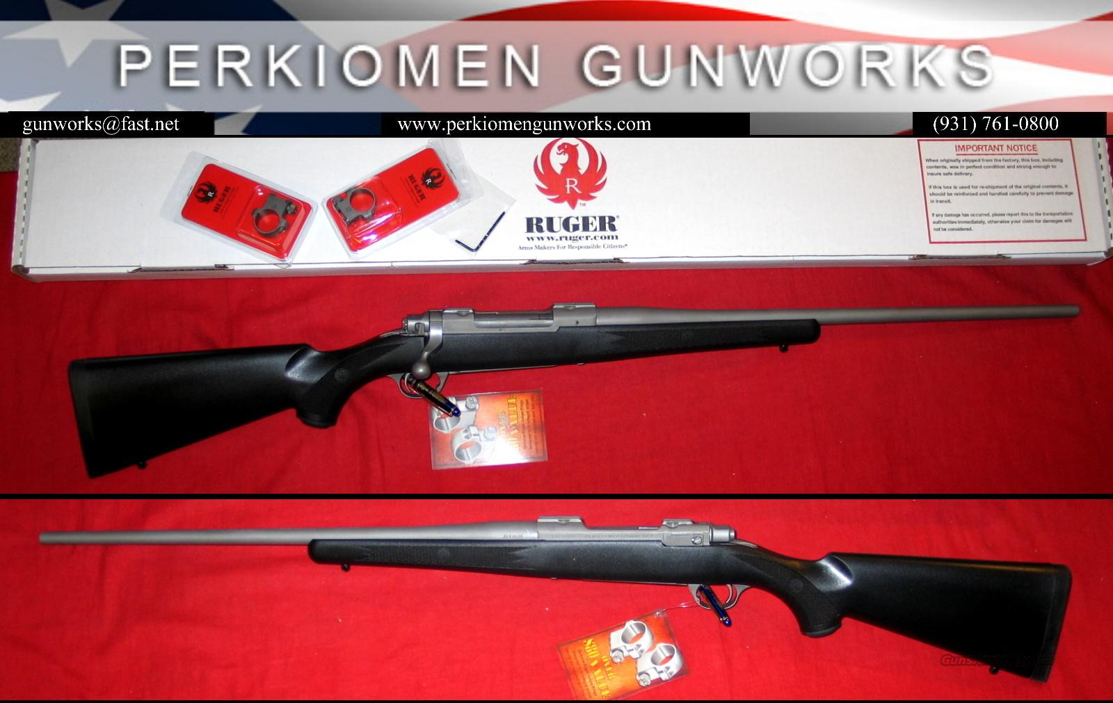 77 All Weather SS/Syn .35 Whelen - Closeout!!  Guns > Rifles > Ruger Rifles > Model 77