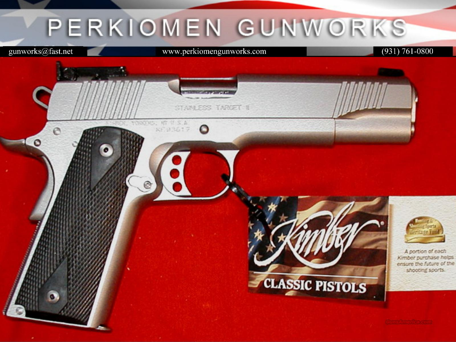 "Stainless Target, 10MM, 5"", New in Box  Guns > Pistols > Kimber of America Pistols"