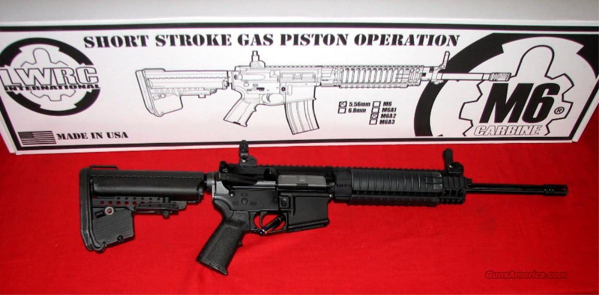 LWRC M6A2, 5.56 Nato - NIB  Guns > Rifles > AR-15 Rifles - Small Manufacturers > Complete Rifle