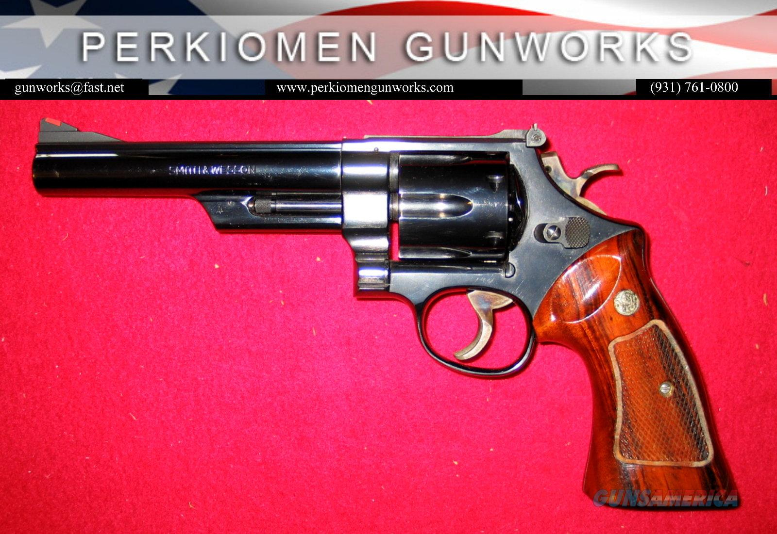 "25-5 Blue, .45LC, 6"" dates 1980, ""The 1955 Model .45 Target Heavy Barrel""  Guns > Pistols > Smith & Wesson Revolvers > Full Frame Revolver"